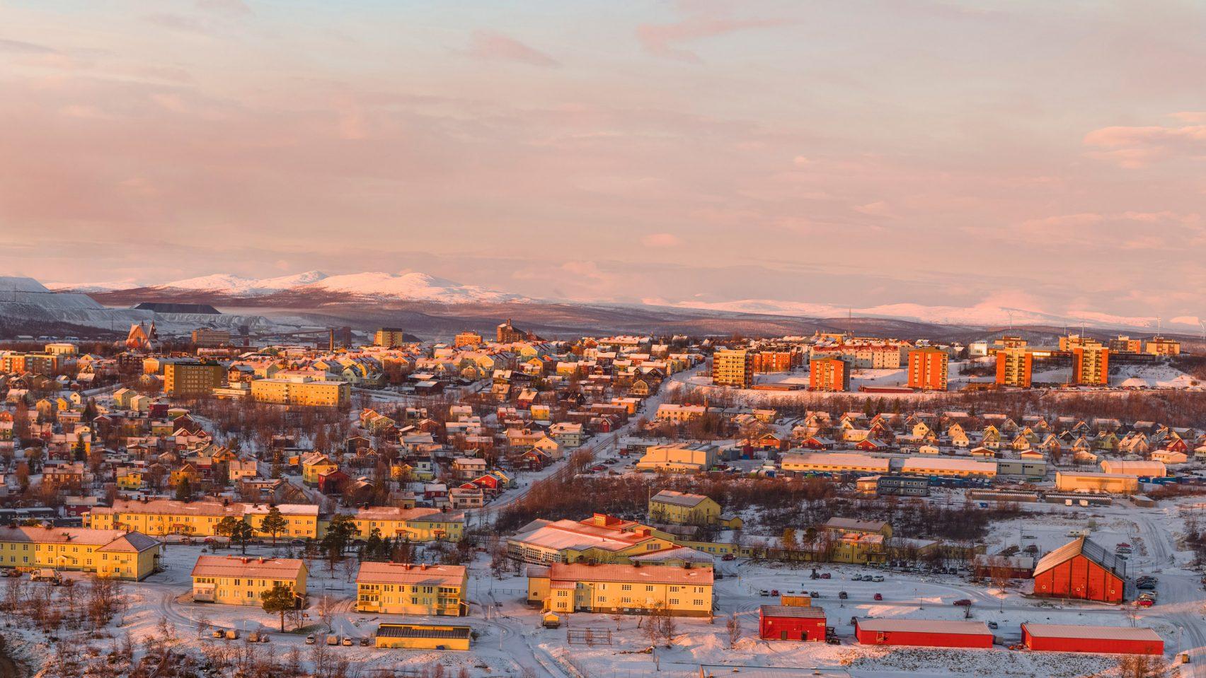 Kiruna climate change moving a town