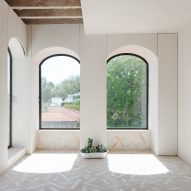 Studio Gameiro keeps time-worn details in overhaul of 19th-century Lisbon apartment