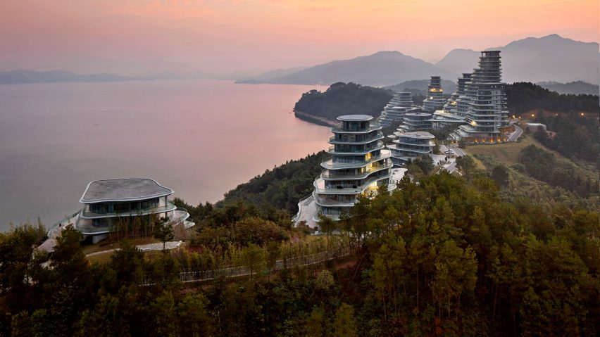 Huangshan Mountain Complex by MAD