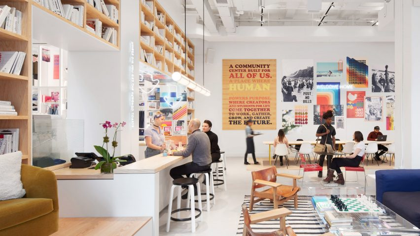 WeWork parent company The We Company opens New York retail space