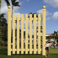 New World Design proposes golden fence around Trump's Mar-A-Lago resort