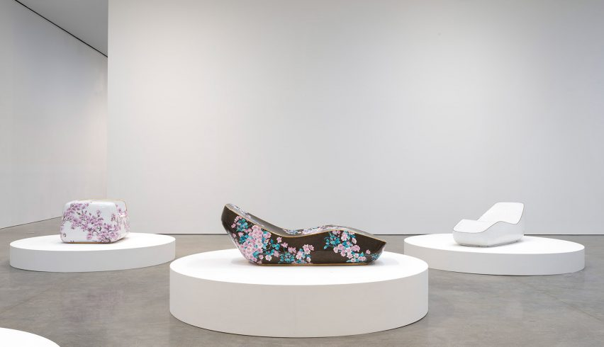 Marc Newson exhibition at Gagosian Gallery Chelsea