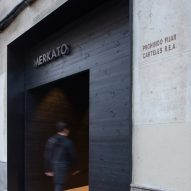 Exterior of Merkato restaurant, designed by Francesc Rifé Studio