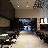 Interiors of Merkato restaurant, designed by Francesc Rifé Studio