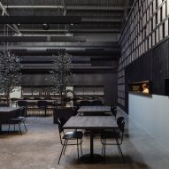 Interiors of Merkato restaurant, designed by Francesc Rifé Studio