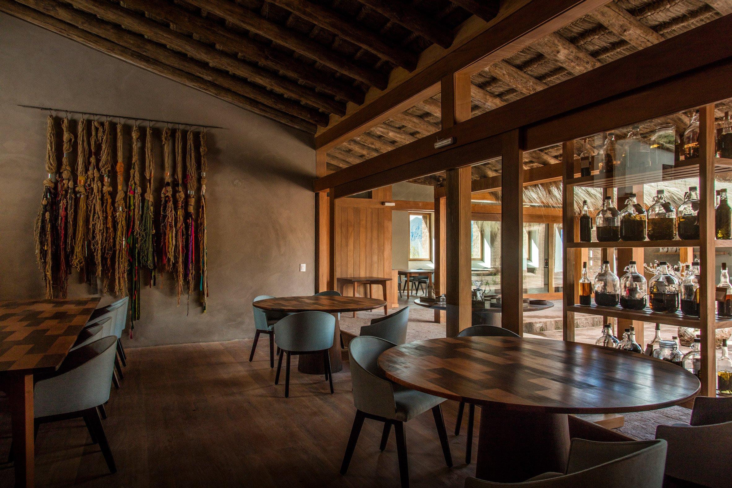 Mil Centro restaurant by Estudio Rafael Freyre