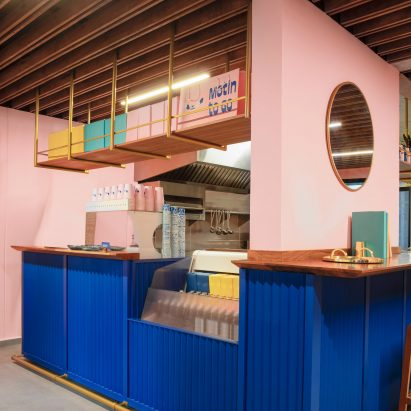 Motin coffee shop in Mexico City by Futura