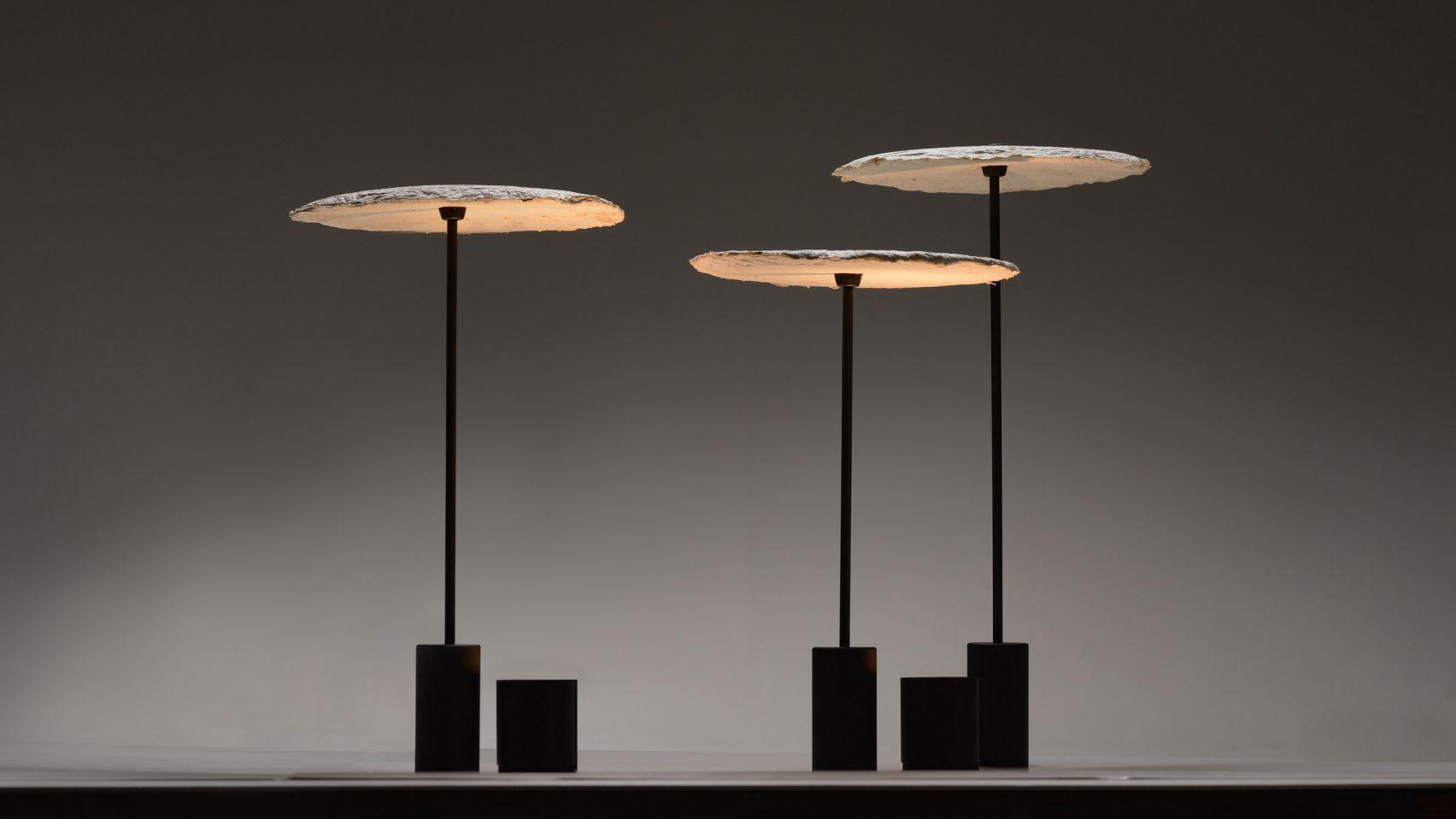 Лампы из грибного мицелия