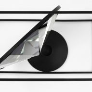 Nendo designs crystal trays and accessories for Atelier Swarovski Home