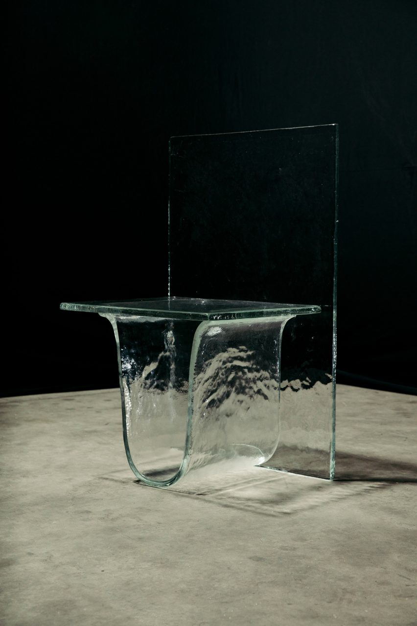 Nendo lets gravity shape its latest Melt furniture collection for WonderGlass