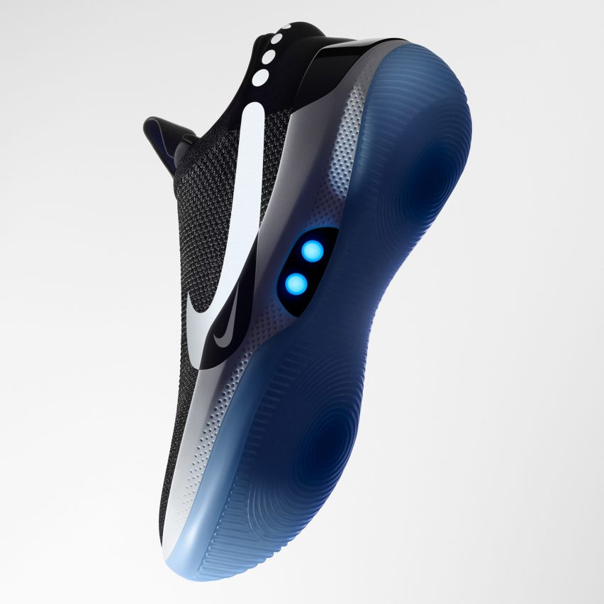 Nike Adapt BB self-lacing smart basketball trainers