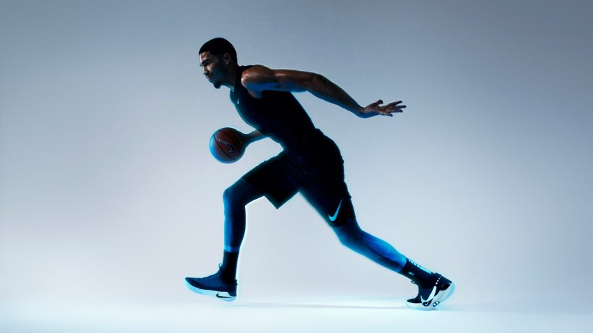 Adapt BB self-lacing smart basketball trainers by Nike