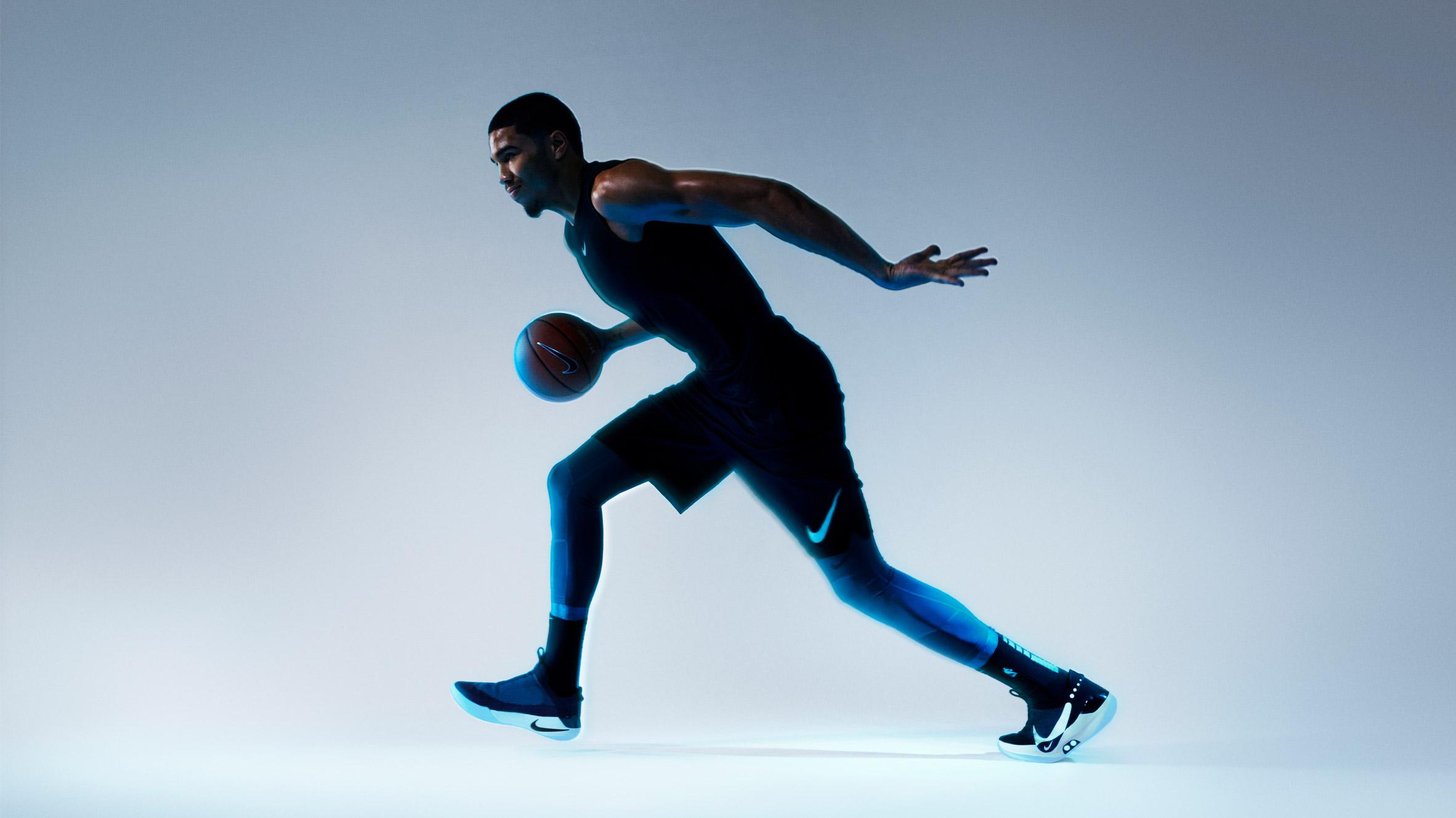 Nike Adapt BB smart basketball sneakers feature self lacing