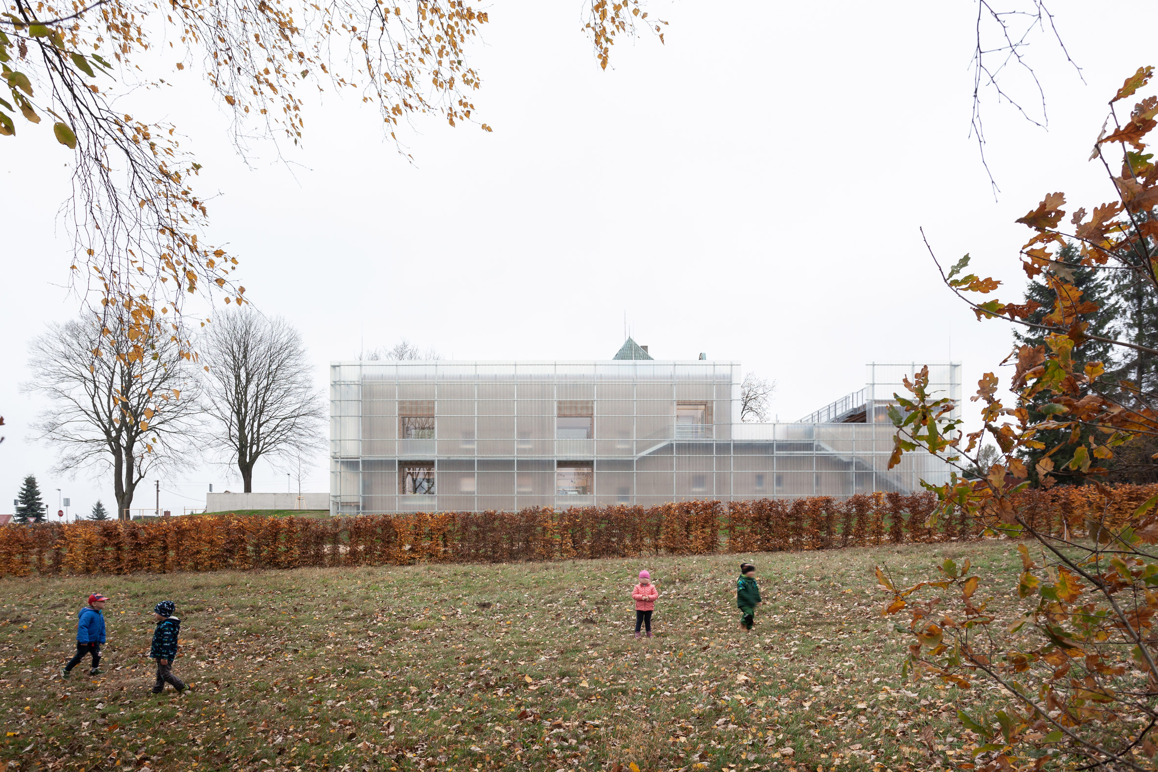 Nová Rudakindergarten by Petr Stolín and Alena Mičeková