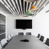 Interiors of Nuvo office headquarters, designed by Roy David Architecture