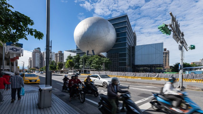 Taipei Performing Arts Center by OMA in Taiwan