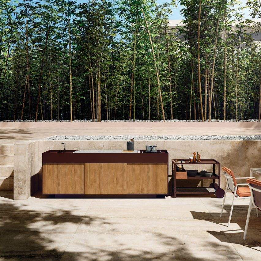 Outdoor furniture: Kettal Outdoor Kitchen