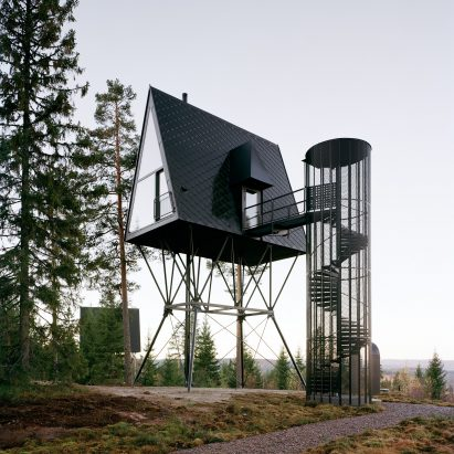 PAN Treetop Cabins by Espen Surnevik in Norway
