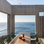 Voids and openings provide views and sea breezes at Patio House by OOAK