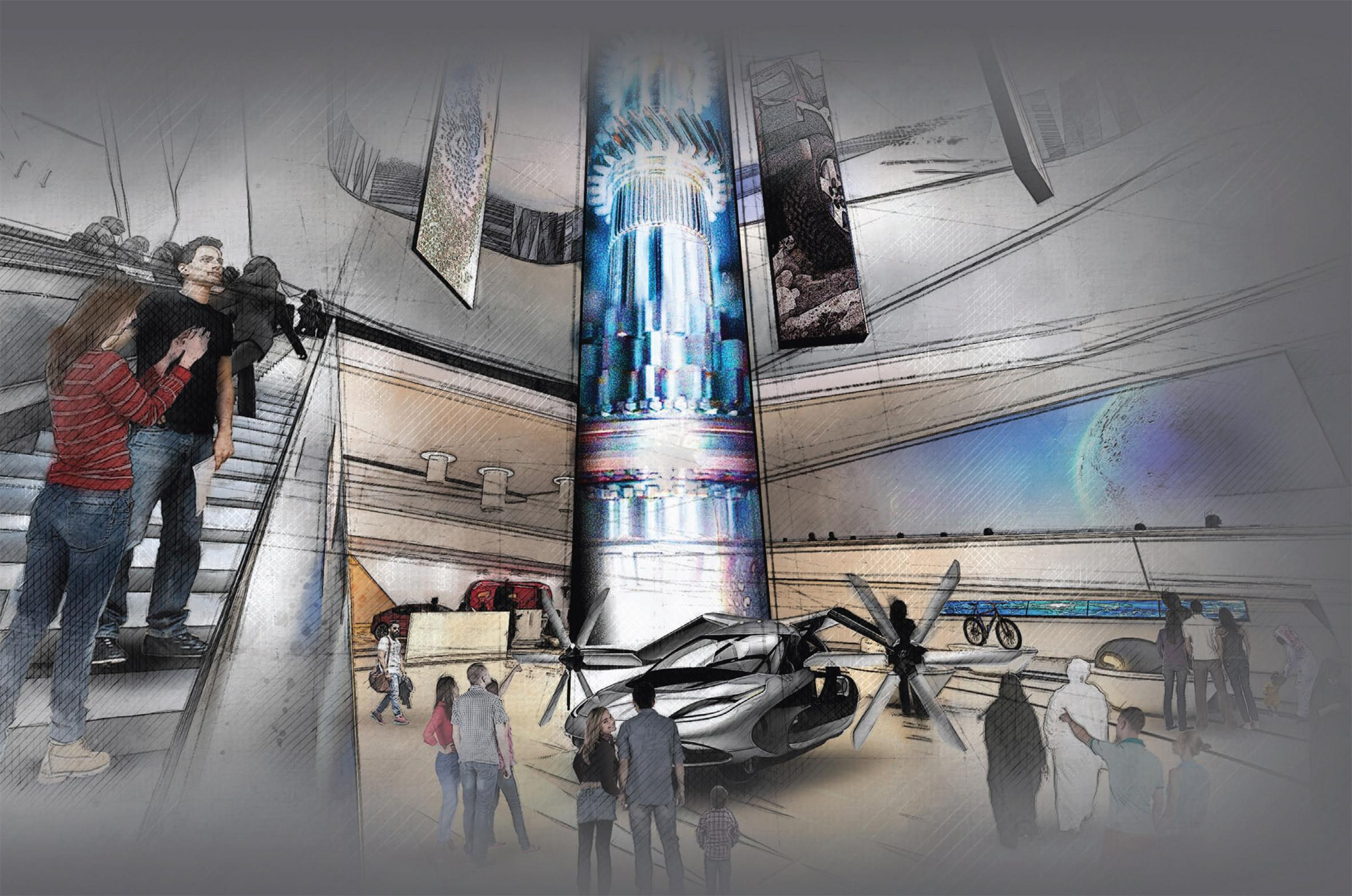 Pavilion USA 2020 for Dubai Expo 2020 by Fentress Architects