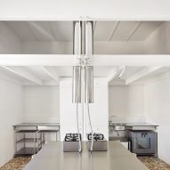 Interiors of penthouse apartment designed by PMAA