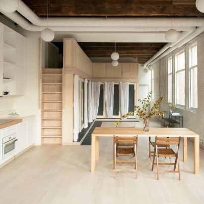 Pioneer Square Loft renovation by Le Whit