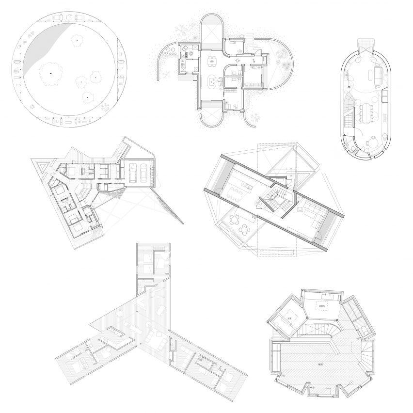 10 houses with weird and wonderful floor plans