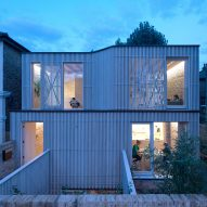 Tikari Works squeezes Pocket House on site of former garage in London
