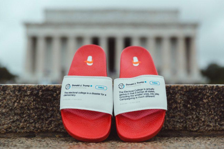 President Flip Flops by Sam Morrison