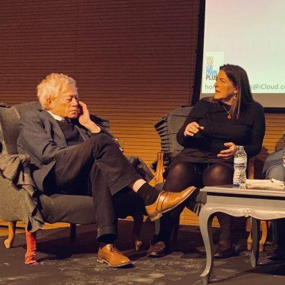Roger Scruton talks at Central Saint Martins