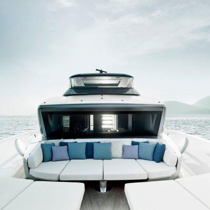 Sanlorenzo SX88 yacht by Piero Lissoni