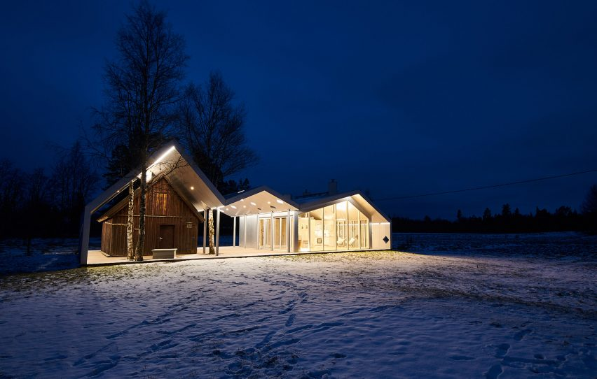 Sauna in Varbol by Peeter Pere and Eva Kedelauk