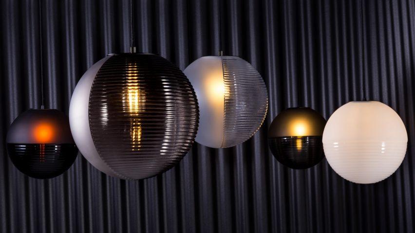 Stellar pendant lamp by Sebastian Herkner