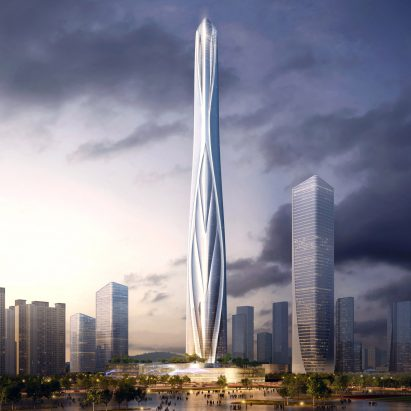 China's tallest building: Shenzhen-Hong Kong International Center by Adrian Smith + Gordon Gill Architecture