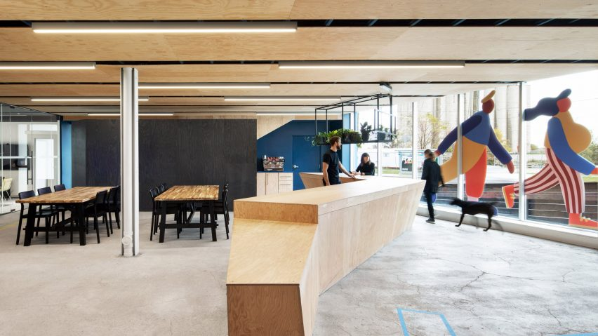 Sidewalk Labs office by Lebel and Bouliane