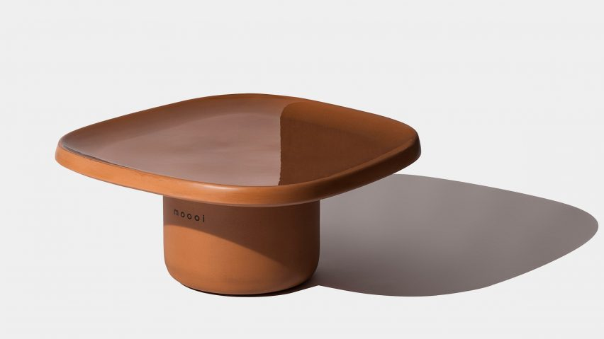 Obon Table for Obon table for Moooi terracotta