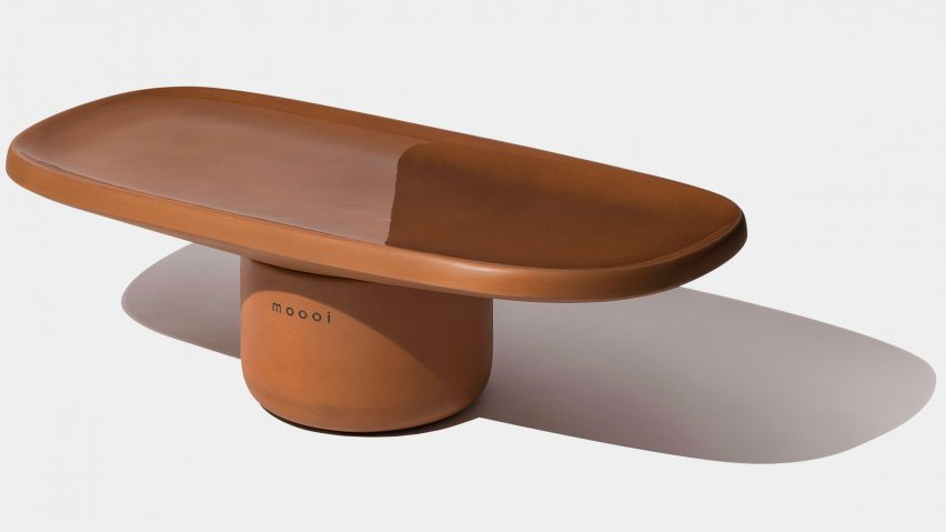 Obon table for Moooi terracotta