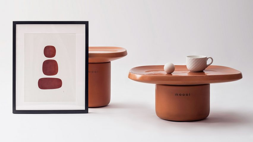 Obon table for Moooi terracotta