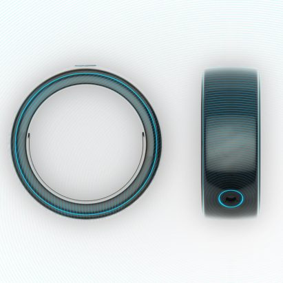 Oxygem smart ring by Hussain Almossawi
