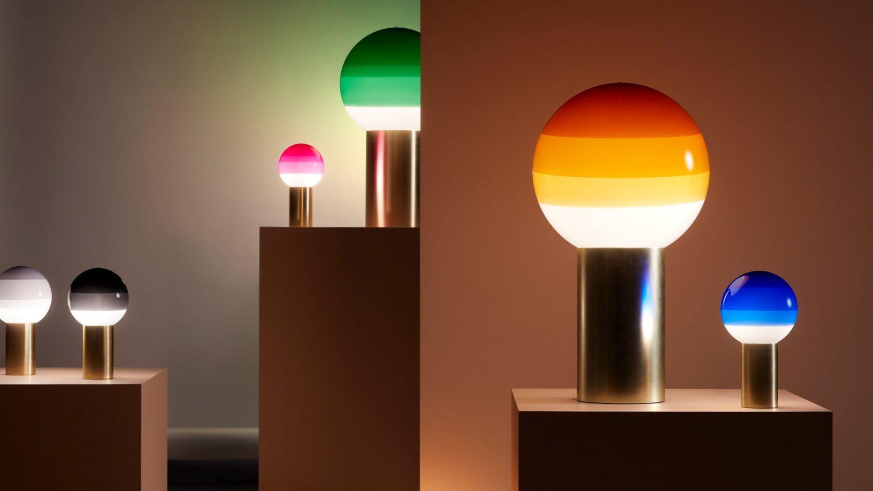 Многослойность светильников Marset