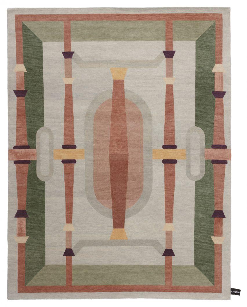 Studio Klass designs renaissance-inspired rugs