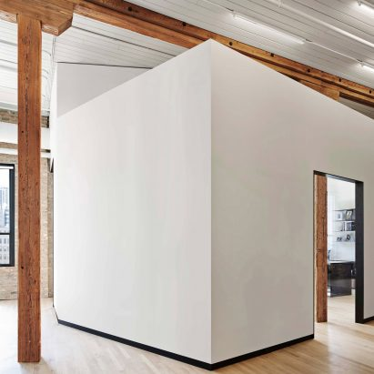 White Partitions Divide Chicago Law Office By Vladimir Radutny