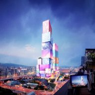 Taipei Twin Towers proposal by MVRDV