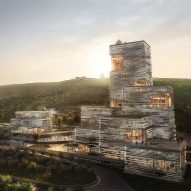 UNStudio designs clustered bank HQ in Tbilisi to encourage collaboration