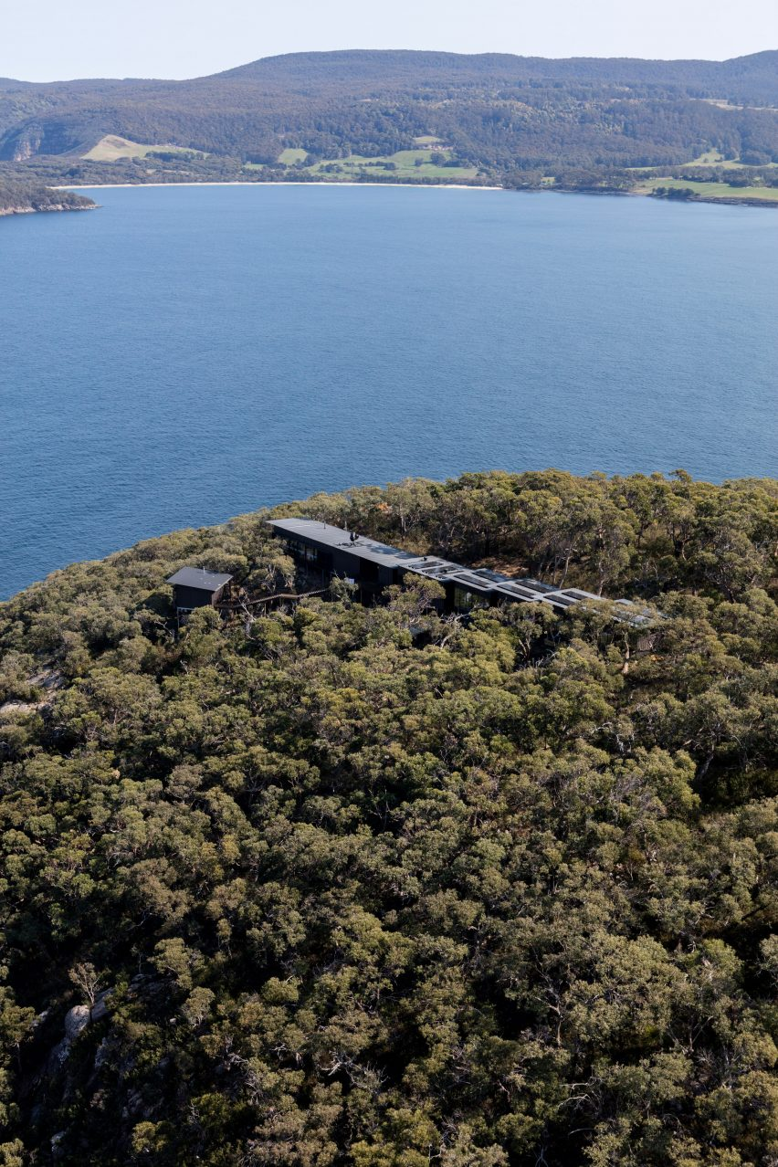 Three Capes Track Hiking Lodges designed by Andrew Burns Architecture