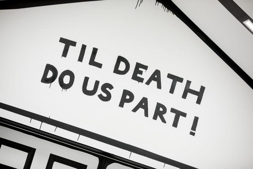 Capilla de Las Vegas Hasta que la muerte nos separe por Joshua Vides