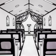 Las Vegas chapel Til Death Do Us Part by Joshua Vides features line-drawn details