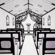 Las Vegas chapel Til Death Do Us Part by Joshua Vides features line-drawn details