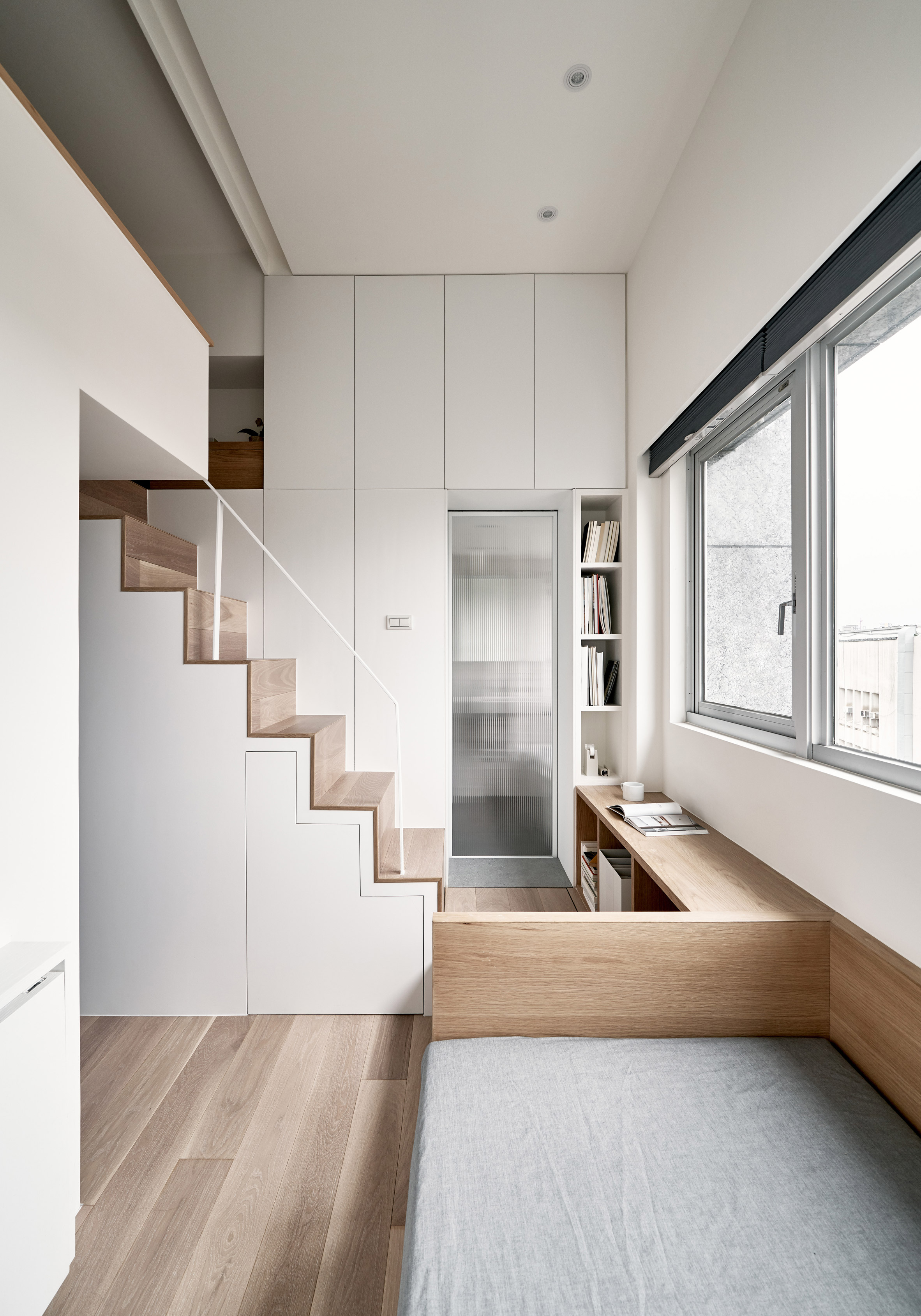 Taiwanese Studio A Little Design Creates 17 6 Square Metre Micro Flat In Taiwan