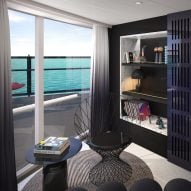 Tom Dixon designs retro-futurist suites for Virgin's first cruise ship